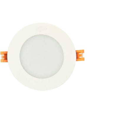 Small White Round Indoor LED Light image