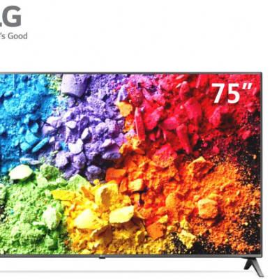 Smart TV - LG  75inch 4K IPS HDR - 75UK6500PCB image