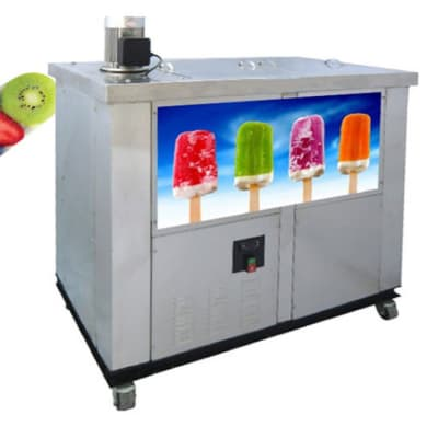 Snack Machines - Double mold popsicle machine ice lolly machine - S02 image