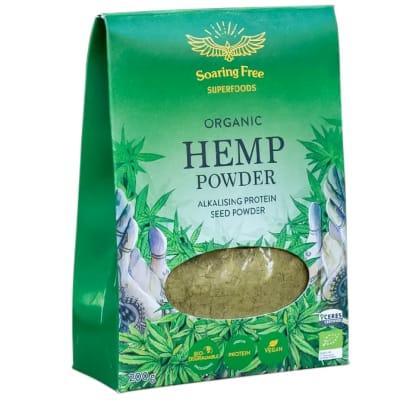 Organic Hemp Seed Protein Powder  200g  image