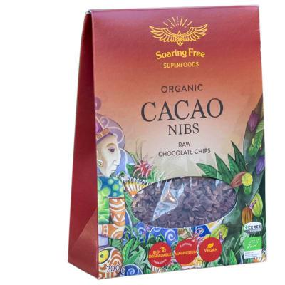 Organic Cacao Nibs  Raw Chocolate Chips 200g image