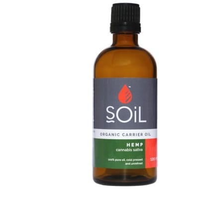 Hemp Seed (Cannabis Sativa)  organic Carrier Oil 100ml  image
