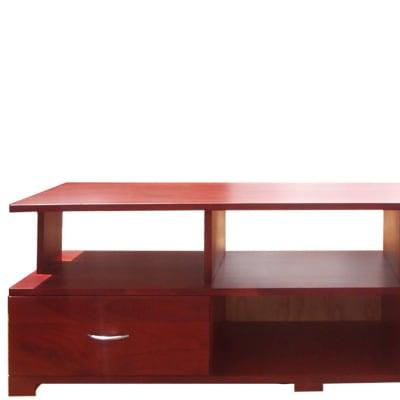 Solid teak low TV cabinet image