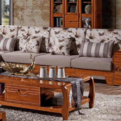 Solid wood living room set - SF-09 image