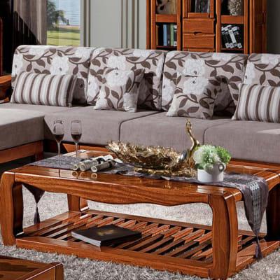 Solid wood living room set - SF-10 image