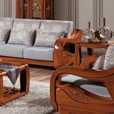 Solid wood living room set - SF-11 image