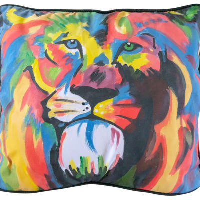 Cushion  Sowa Cushion Covers Colourful Lion image