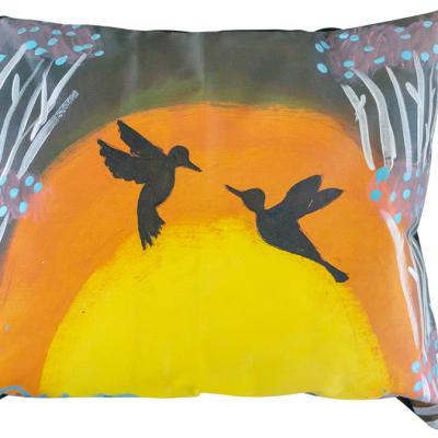 Cushion  Sowa Cushion Covers  Two Birds at Sunrise image
