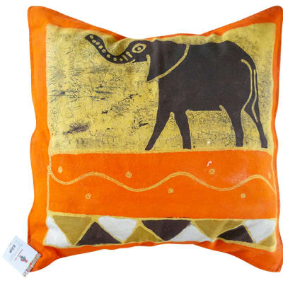 Cushion Sowa Cushion Covers Black Elephant image