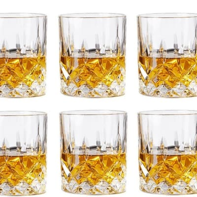 Spirits cup lead-free glass - juice, wine, beer, whiskey - Glass image
