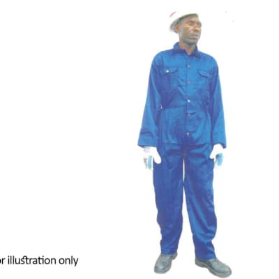 Clothing - Blue overalls with out reflectors image