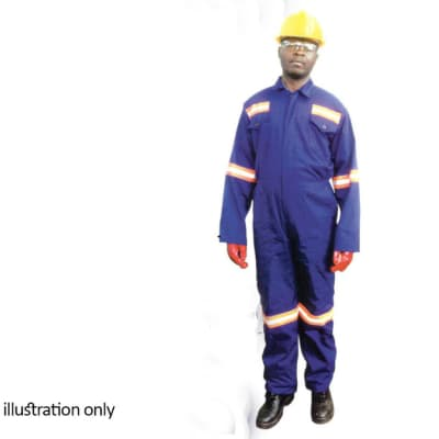 Clothing - Blue overalls with reflectors image