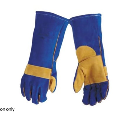 Hand Protection - Leather gloves elbow length image