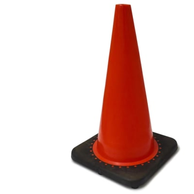 Warning Devices - Orange Road Cone image