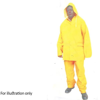 Water Proof Clothing - PVC Rain-suit yellow image