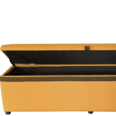 Storage  Ottoman Foot-End Cabinet  Tan  image