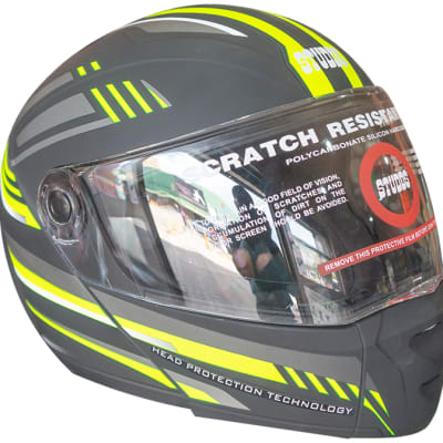 Motorcycle Helmets Full Face Black Scratch Resistant image