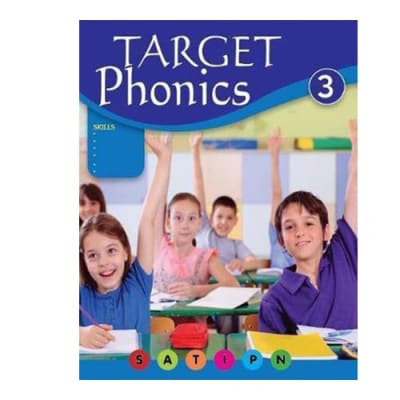 Target Phonics 3 English Visual Cognition & Vocabulary Building  Workbook image