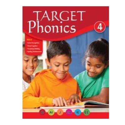 Target Phonics 4  English Pronunciation & Sound Recognition  Work Book  image