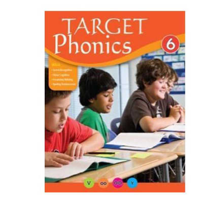 Target Phonics 6  English Spelling Reinforcement & Vocabulary Building  Work Book  image