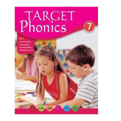 Target Phonics 7  Vocabulary Building & Sound Recognition  Practice Book image