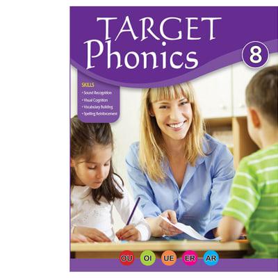 Target Phonics 8 Vocabulary Building & Spelling Reinforcement  Practice Book image