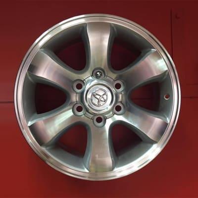 "Car Wheel Rim 17"" 6 holes Toyota image"