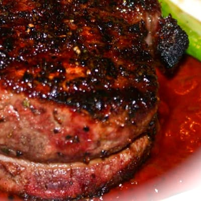 Steak and Grills - Steak on Char Grill - Fillet Mignon  image