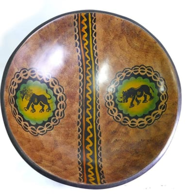 Hand painted fruit bowl image