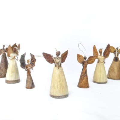 Christmas Tree Decorations of African Angels image