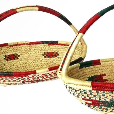 Fruit baskets with handles image