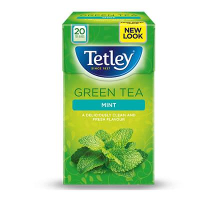 Tetley Green Tea  Mint  image