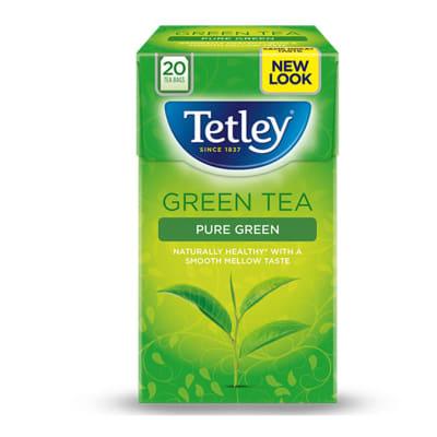 Tetley Green Tea  Pure  20 Tea Bags image