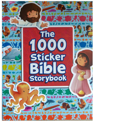 The 1,000 Sticker Bible Storybook image