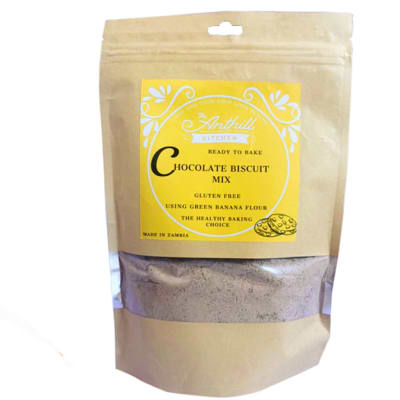 Chocolate Biscuit Mix  Gluten-Free Green with Banana Flour 250g  image