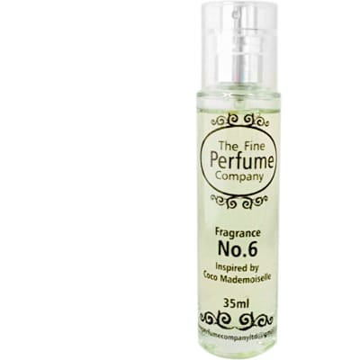 The Fine Perfume Company  Fragrance No. 6  Inspired by Coco Mademoiselle image