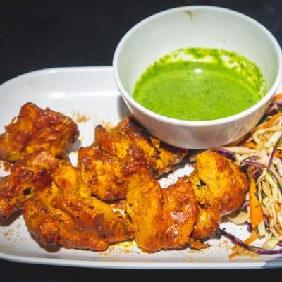Tawa Menu - Chicken Haryali tikka image