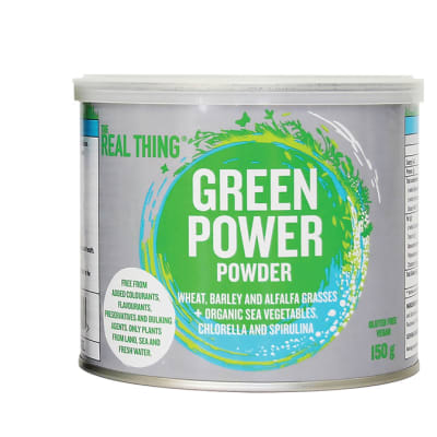 The Real Thing  Green Power Powder  150g image