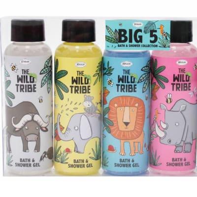 Bath & Shower the Wild Tribe  Big 5  Gels 100ml image