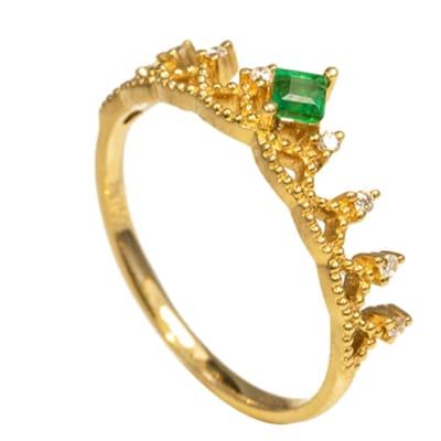 Yellow Gold Tiara  Ring  image