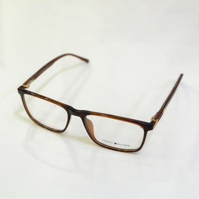 Tommy Hilfiger Full Rim Eyeglass Frames - Black & Brown image