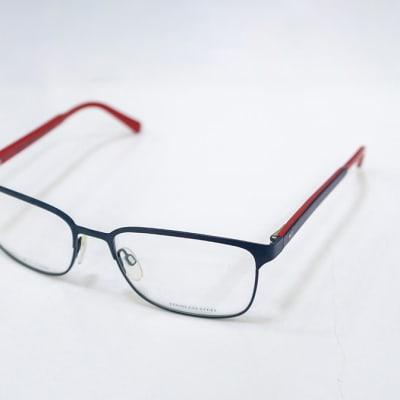 Tommy Hilfiger Full Rim Eyeglass Frames - Blue & Red  image