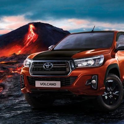 Toyota Hilux Volcano Erupts the 4x4 Limited Edition image