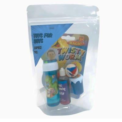 Toys for Boys  Surprise Pack Bubbles, Magic Ink Etc image