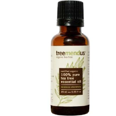 Treemendus Organic Tea Tree Oil Essential Oil Melaleuca Alternifolia 25ml image