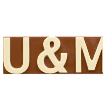 U & Me Chocolate Slab  image