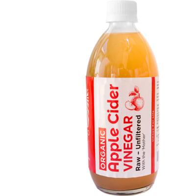 Apple Cider Vinegar  Raw & Unfiltered  500ml  image
