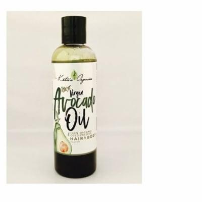 Hair & Body Oil Katie's Organics Avocado Oil Cold Pressed  image