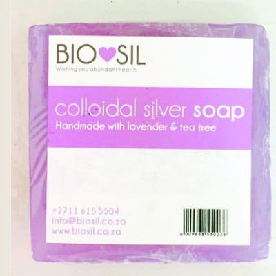 Biosil Colloidal Silver  Soap  Lavender image