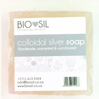 Biosil Colloidal  Silver Soap  Unscented Baby Soap image